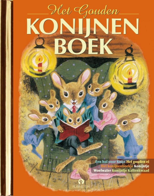Het Gouden Konijnen Boek