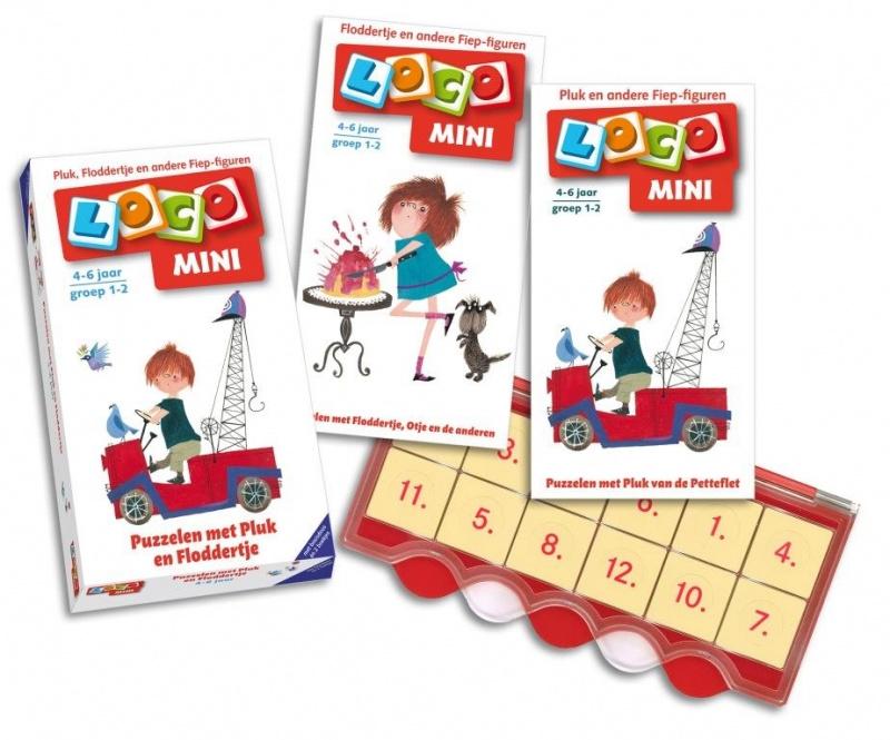Loco Mini Puzzelen met Pluk en Floddertje