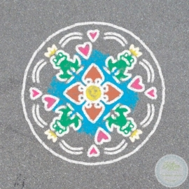 Outdoor Mandala-Designer - Romantic Garden