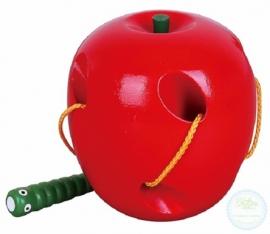 Rijgspel Appel met rups