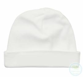 Witte babymuts (5st)