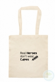 Katoenen tas  Real Heroes