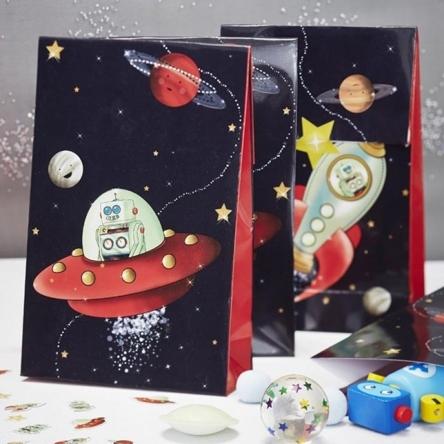 Space Robot traktatiezakjes (8st)