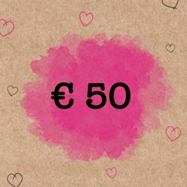 CADEAUBON €50,-