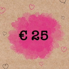 CADEAUBON €25,-