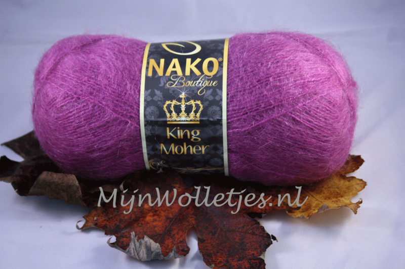 King Mohair Paars