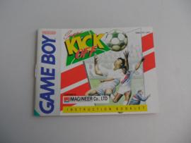 Super Kick Off Manual