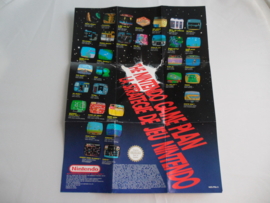The Nintendo Game Plan Flyer / Poster