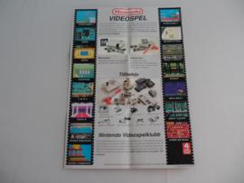 Nintendo NES & gameboy  Flyer / Poster Versie 2