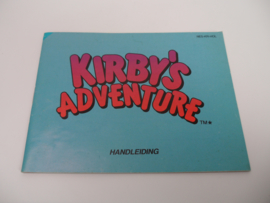 Kirby's Adventure Handleiding