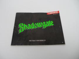 Shadowgate Handleiding
