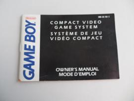 Gameboy Handleiding