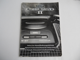 Sega Mega Drive 2 / II Console Handleiding