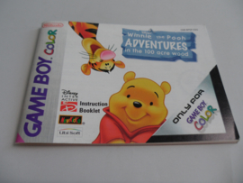 Winnie the Pooh Adventures in the 100 Acres Wood Manual