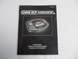 Gameboy Advance Console Manual