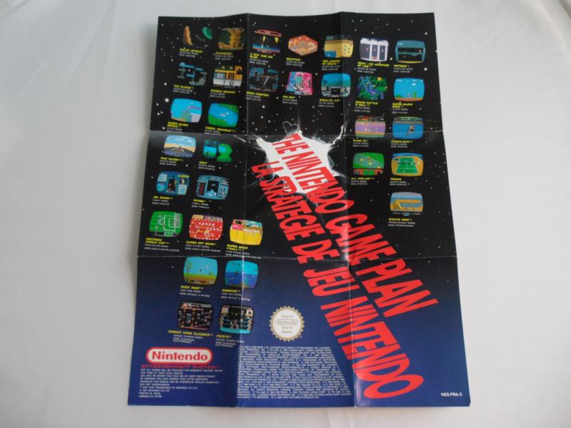 The Nintendo Game Plan Flyer / Poster