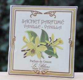 Le blanc geurzakje Vanilla