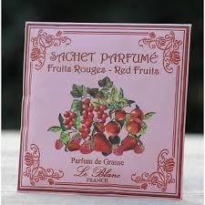 Le Blanc geurzakje rode vruchten
