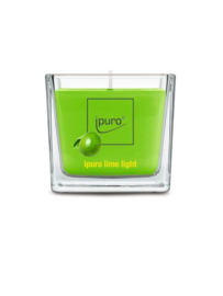 Essentials Ipuro geurkaars 125 gr Lime light