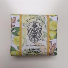 La Florentina zeep  Limoen-Gember 106gr