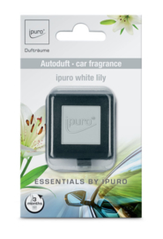Essentials Ipuro autogeurtje White Lily