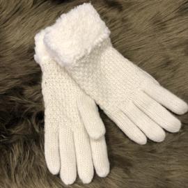Warme Handschoenen ecru