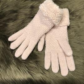 Warme Handschoenen roze