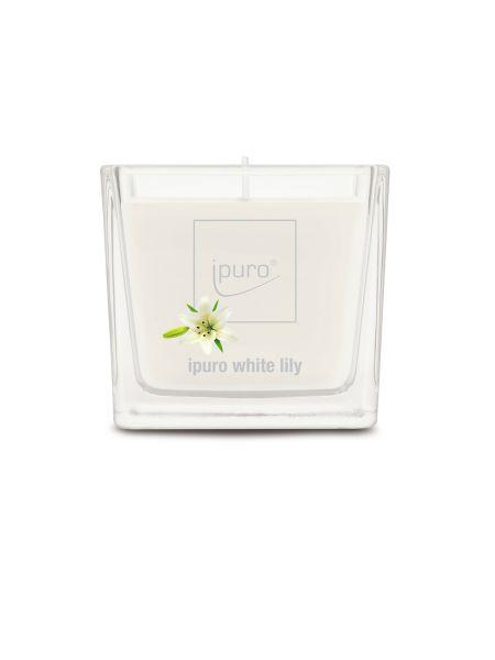Essentials Ipuro geurkaars 125 gr White Lily