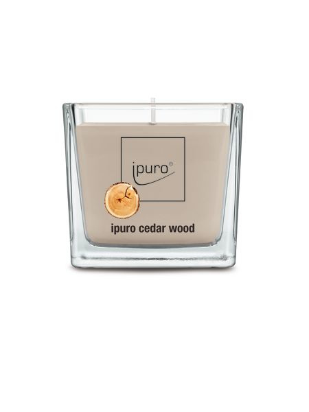 Essensials Ipuro geurkaars 125 gr Cedar wood