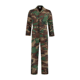 stoere camouflage overall maat 86