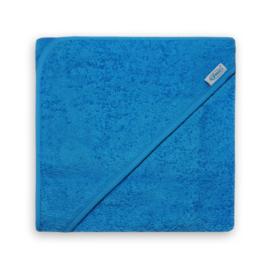 Badcape badstof turquoise