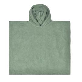 poncho stone grey