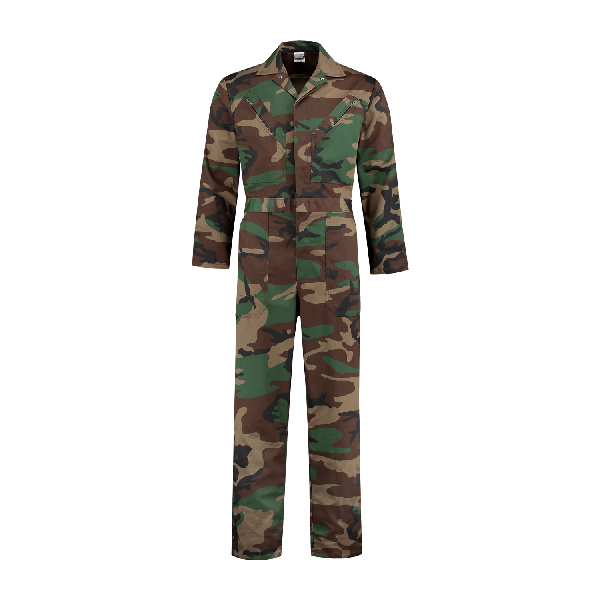 stoere camouflage overall maat 104