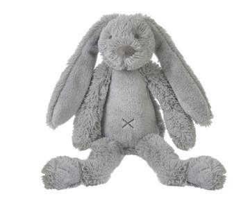 konijn lichtgrijs alleen 38 cm op voorraad