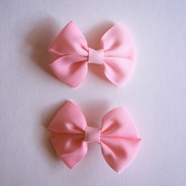 Set van 2 haarclips baby meisje - Roze