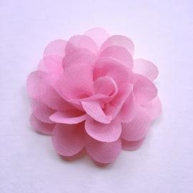 Haarspeldje baby meisje - bloemtje 5 cm roze