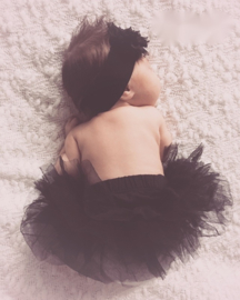 Rokje baby tutu - Zwart