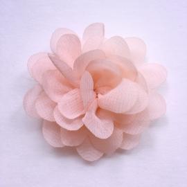 Haarspeldje baby meisje - bloemetje 5 cm peach