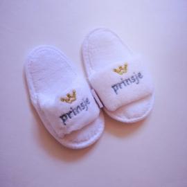 Badslippers Prinsje