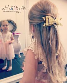 Haarspeld meisje - Glitter goud