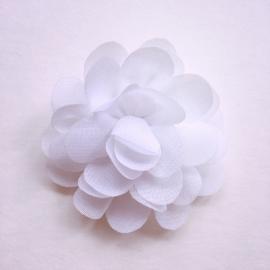 Haarspeldje baby meisje - Bloemetje 5 cm wit