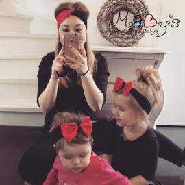 Moeder en dochter haarbanden