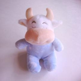 Knuffel geboortekoe - Blauw