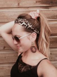 Bandana haarband - panterprint