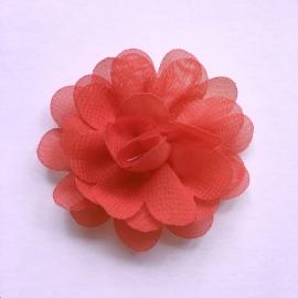 Haarspeldje baby meisje - Bloemetje 5 cm rood