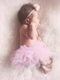 Rokje baby tutu - Roze