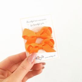 Oranje haarspeldjes