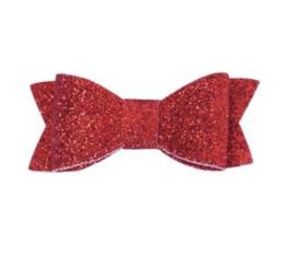Glitter strik - rood