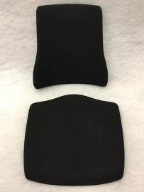 Kussen set voor Axia BMA met zwarte stoffering