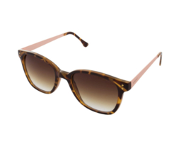 Renee metal tortoise rose gold